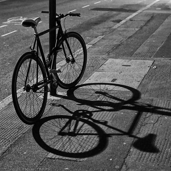 A Bike And Its Shadow