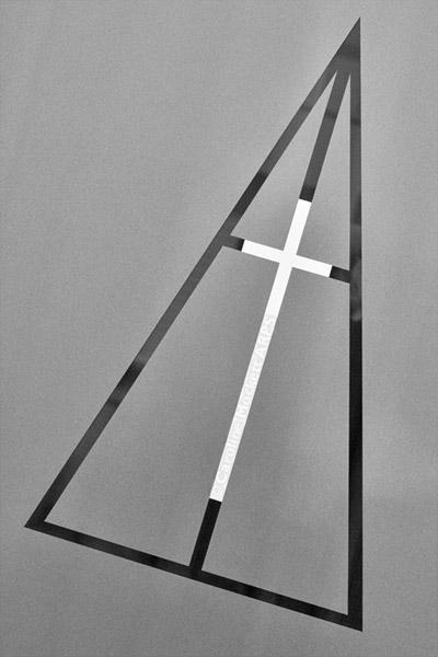 Triangle And Cross