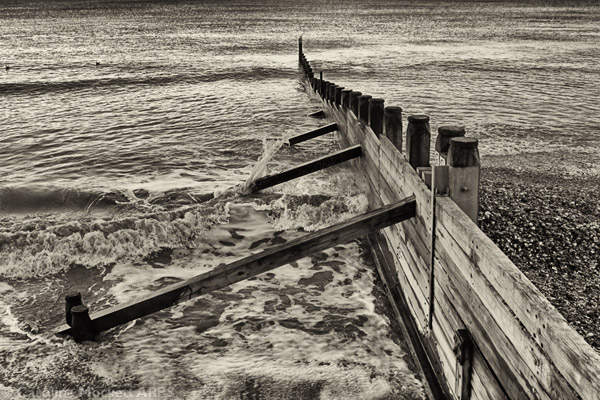 Southwold In Sepia