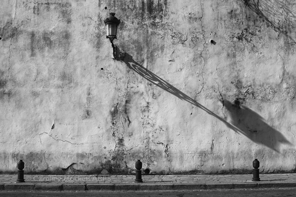 Long Shadow On Rough Wall
