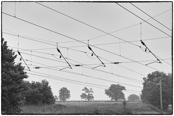 Landscape With Wires