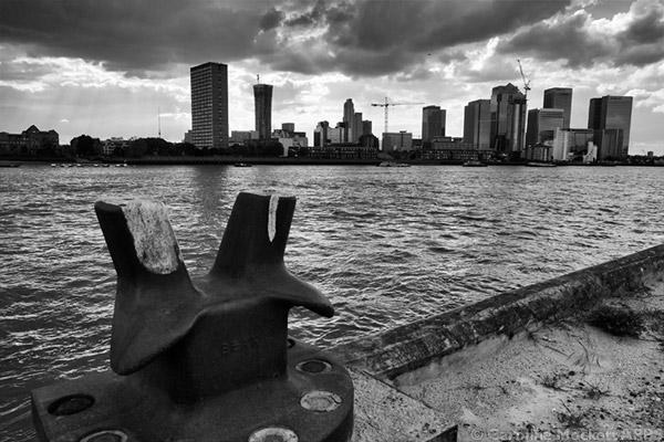 Storm Over Docklands