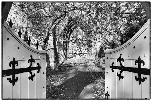 Church Gates Welcome