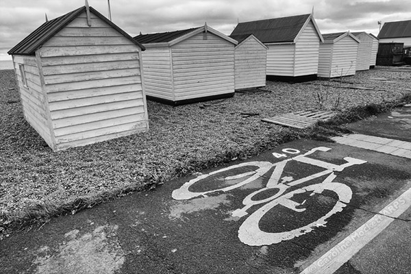 Behind The Beach Huts