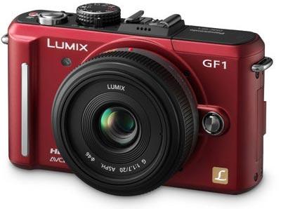 Panasonic Lumix GF1 Front
