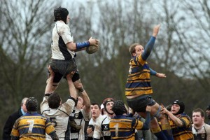 Another Lineout Won