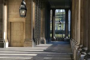 Shadowy Colonnade