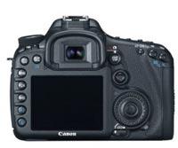 Canon EOS 7D Rear