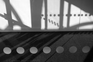 Lobby shadows at Bournemouth Uni