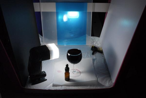 Bubbles in Liquid setup
