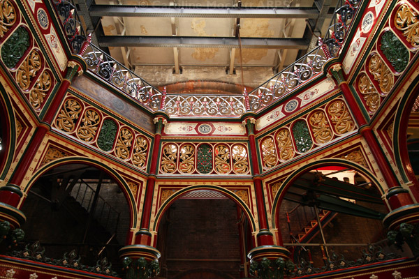 Central octagon ironwork