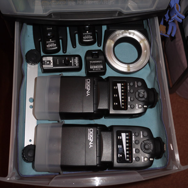 Flashes and Wireless RX/TX bits