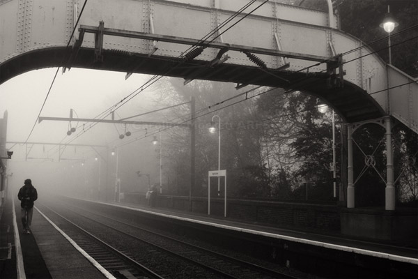 Foggy Morning At The Station