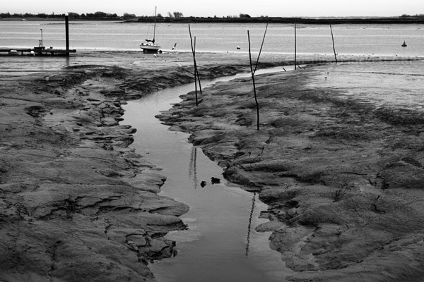 Mudscape, Heybridge Basin