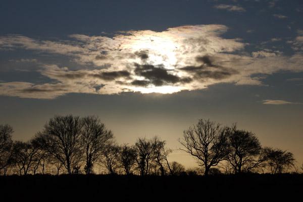 Behind A Cloud