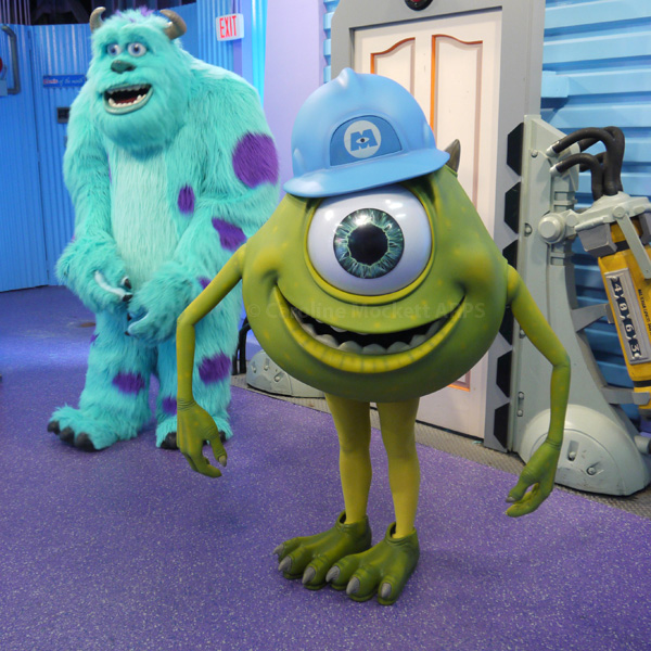 Mike and Sully say hello