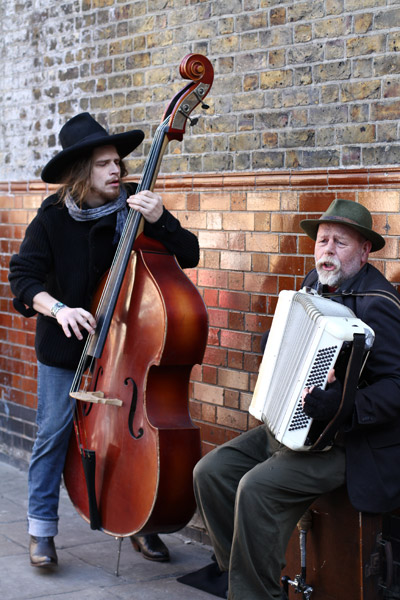 Buskers - Columbia Road