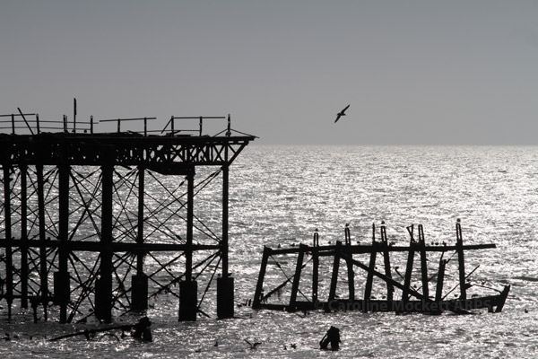 West Pier Silhouette