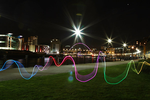 Ribbon Visits The Quayside