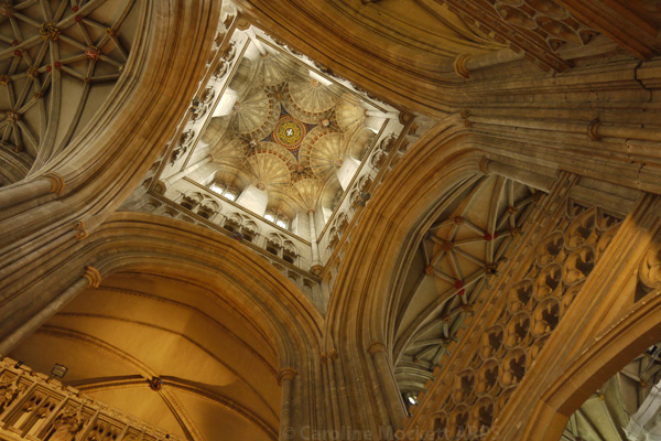 Off Centre - Canterbury Cathedral