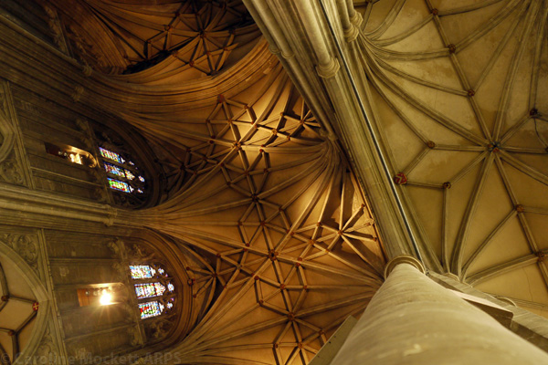 The Vaulted Roof, Canterbury Cathedral