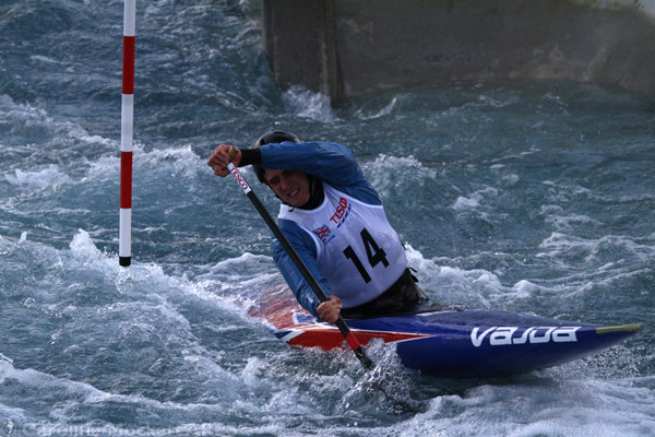 Angled Paddle, Olympic Canoeing Trials
