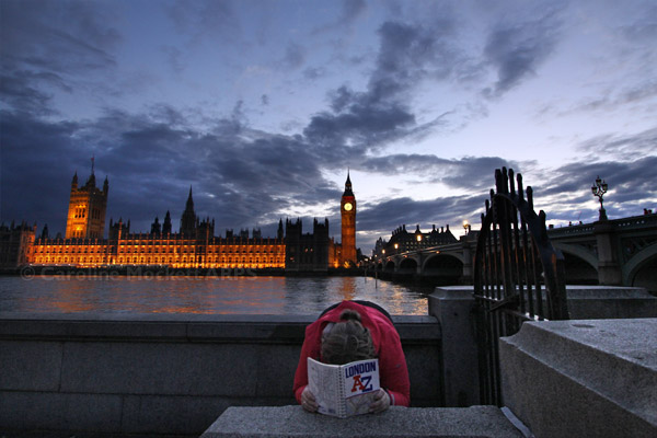 Face Down Tuesday - Westminster Sights Edition