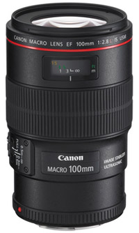 Canon's 100mm EF f/2.8L IS USM Macro lens
