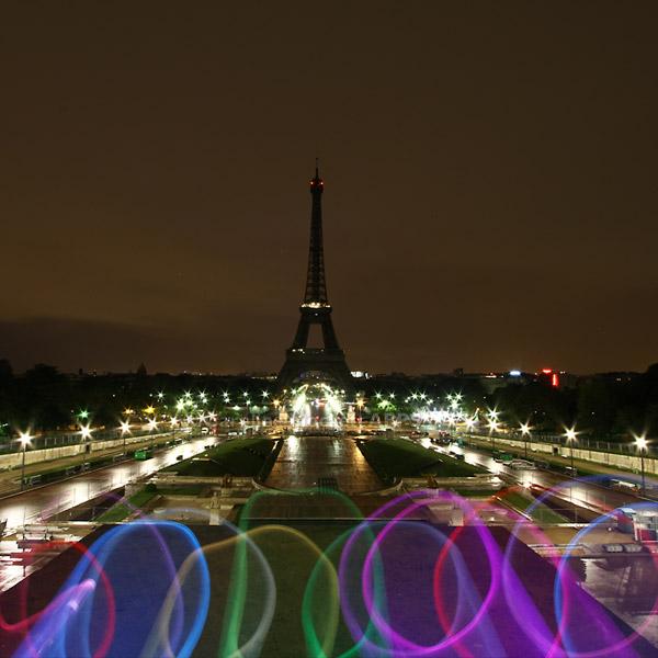 Le ruban visite de la Tour Eiffel
