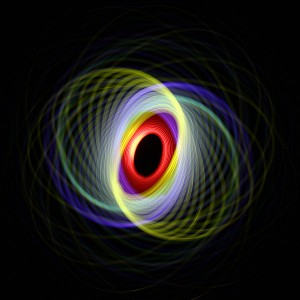 Red Eye Spin With Colour