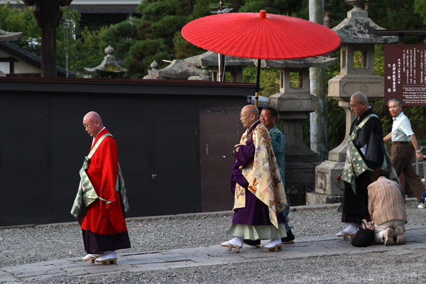 High Priest Procession, Zenko-Ji, Nagano