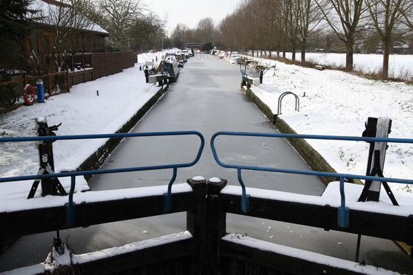 Frozen Lock, Sandford Mill