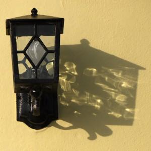 Lamp, Shadow, Wall