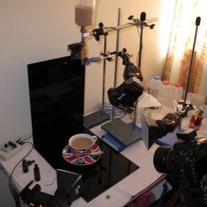 Teacup setup