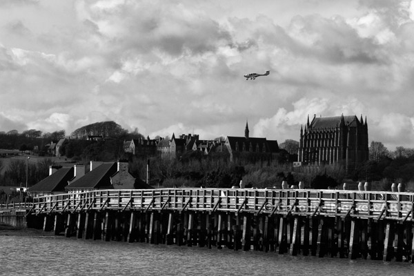 The Old Toll Bridge & Lancing College