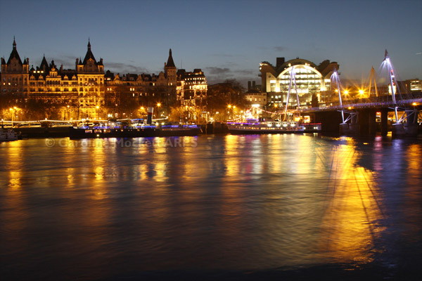 Charing Cross And The River