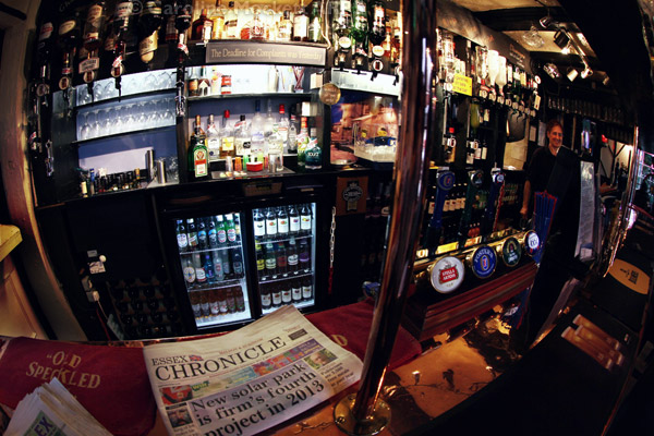 Behind The Bar - The Jolly Sailor
