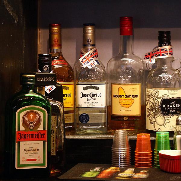 A Rum Shelf