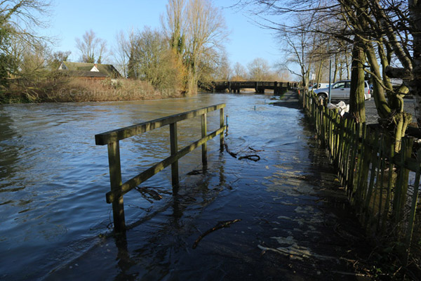Flooded Towpath