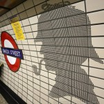 UO (Bakerloo) - Baker Street - Sherlocks On The Platform