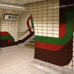 UO (Bakerloo) - Piccadilly Circus - Stripes Around The Bend