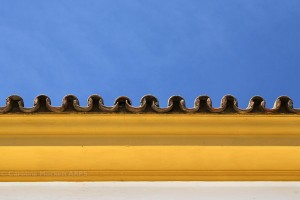 Yellow, Blue & Pantiles