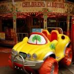 Carousel And Big Wheels