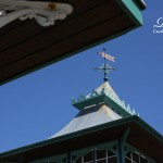 Shelter And Weather Vane