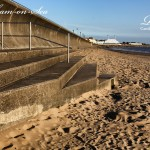 Sand And Footprints