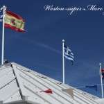 Flags On The Roof
