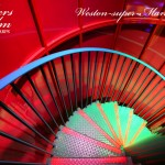 The Red Spiral Stairs