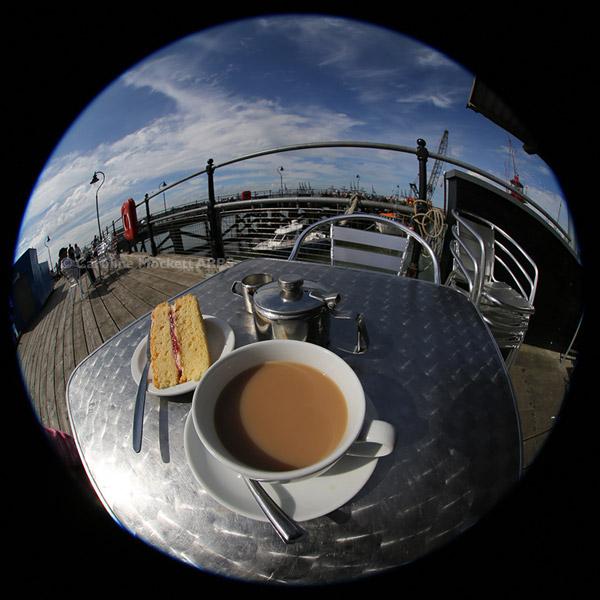 Victoria Sponge On The Pier