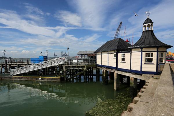 Harwich Ha'penny Pier Ticket Office