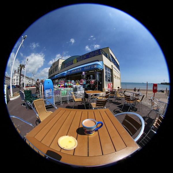 Tea And Cake, Weymouth Bandstand
